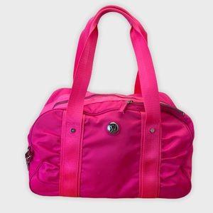 Lululemon Duffle Gym Bag Pow Neon Pink